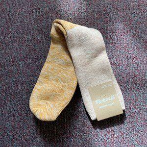 NWT! Madewell Crew Socks